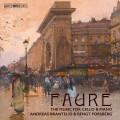 佛瑞:大提琴音樂作品 布蘭德里德 大提琴 / Andreas Brantelid / Faure – The Music for Cello & Piano