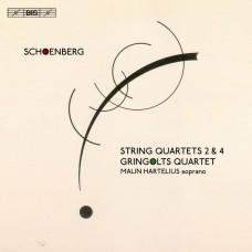 荀白克:第2.4號弦樂四重奏 葛林戈斯四重奏 /  Gringolts Quartet / Schoenberg – String Quartets Nos 2 & 4