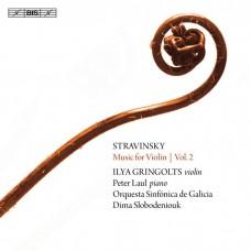 史特拉文斯基: 小提琴改編曲第二集 伊利亞.葛林戈斯 小提琴 彼得·勞爾 鋼琴 / Ilya Gringolts / Stravinsky – Music for Violin, Vol.2