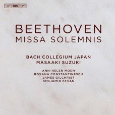 貝多芬: 莊嚴彌撒 鈴木雅明  指揮 日本巴哈合奏團 / Masaaki Suzuki / Beethoven - Missa solemnis