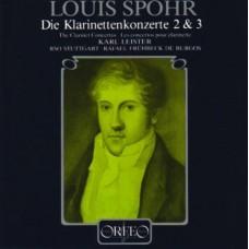 史博:第二、三號單簧管協奏曲 Spohr:Clarinet Concertos Nos. 2 & 3