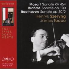 莫札特:小提琴奏鳴曲,KV454;布拉姆斯:第2號小提琴奏鳴曲,Op.100;貝多芬:第7號小提琴奏鳴曲 Mozart、Brahms & Beethoven:Violin Sonatas