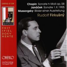 蕭邦:第3號鋼琴奏鳴曲,Op.58;楊納傑克:鋼琴奏鳴曲;穆索斯基:展覽會之畫 Chopin、Janacek & Mussorgsky