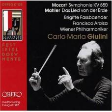 莫札特:第40號交響曲、馬勒:大地之歌 Mozart:Sym 40、Mahler:Das Lied Von Der Erde