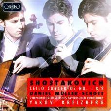 蕭士塔高維契:第1、2號大提琴協奏曲 (丹尼爾.穆勒–修特, 大提琴) Shostakovich:Cello Concertos Nos. 1 & 2 (Muller-Schott, cello)