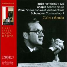 巴哈:C小調第二號組曲, BWV826/蕭邦:B小調奏第二號奏鳴曲/拉威爾:高貴而感傷的圓舞曲/舒曼:狂歡節 Bach:Partita BWV823/Chopin:Sonate op.35/Ravel:Valse nobles et sentimentales/Schumann:Carnaval op.9