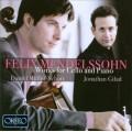 孟德爾頌:給大提琴與鋼琴的作品 Mendelssohn:Works for Cello & Piano
