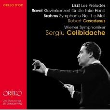 傑利畢達克指揮李斯特、拉威爾、布拉姆斯 Sergiu Celibidache conducts Liszt, Brahms & Ravel