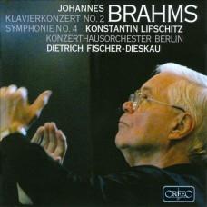 布拉姆斯:第四號交響曲、第二號鋼琴協奏曲 Brahms:Symphony No.4 & Piano Concerto No. 2