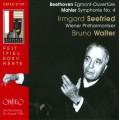 貝多芬:艾格蒙序曲、馬勒:第四號交響曲 Mahler:Symphony No. 4 Live Recording 1950.8.24