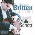 布列頓 大提琴組曲一~三號 Britten:Suites for cello solo, Nos. 1-3 (Muller-schott 繆勒-修特, 大提琴)