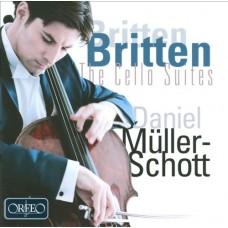布列頓 大提琴組曲一~三號 (丹尼爾.穆勒-修特, 大提琴) Britten:Suites for cello solo, Nos. 1-3 (Daniel Muller-Schott, cello)