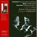 舒伯特:羅沙蒙德序曲、貝爾格:小提琴協奏曲、布魯克納:第九號交響曲 Schubert、Berg、Bruckner