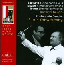 孔維茲尼指揮貝多芬、莫札特、史特勞斯(1961.8.4薩爾茲堡音樂節現場錄音) Franz Konwitschny conducts Beethoven, Mozart & Strauss