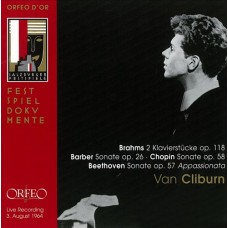 范.克萊本彈奏布拉姆斯、巴伯、貝多芬 & 蕭邦 Van Cliburn:Brahms, Barber, Beethoven & Chopin