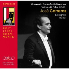卡列拉斯演唱藝術歌曲(1981.8.16薩爾茲堡音樂節現場錄音) Liederabend: Jose Carreras (1981.8.16 Live Recording)