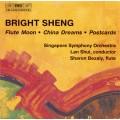 盛宗亮:管弦樂曲「中國夢」、月笛:給長笛、豎琴、鋼琴、打擊樂與樂團」、管弦樂曲「明信片」 Bright Sheng:Flute Moon; China Dreams; Postcards