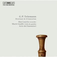 泰勒曼:序曲與三首協奏曲 Telemann:Overture & 3 Concertos