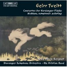 蓋爾.特威特:挪威鄉土提琴協奏曲、Nykken交響繪畫 Geirr Tveitt:Concertos for Hardanger Fiddle, etc.