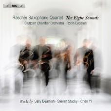 八音~當代薩克斯風四重奏作品 (拉榭爾薩克斯風四重奏) The Eight Sounds (Raschèr Saxophone Quartet)