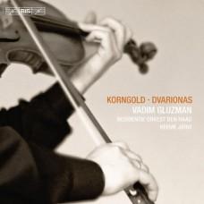 康果爾德、德瓦利歐納斯:小提琴協奏曲 Korngold & Dvarionas:Violin Concertos