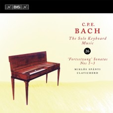 CPE巴哈:鍵盤獨奏曲第26集 C P E Bach:Solo Keyboard Music Vol.26