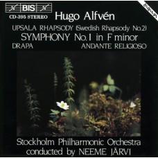 愛爾芬:第一號交響曲、艾普塞拉狂想曲 Alfven:Symphony No.1,  etc.