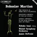 馬替奴:法蘭契斯卡的壁畫/給中提琴與管弦樂團的狂想協奏曲/給雙弦樂團、鋼琴與定音鼓的雙重協奏曲 Martinu:The Frescos of Piero Della Francesca、Rhapsody Concerto、Double Concerto for Two String Orchestras, Piano and Timpani