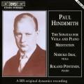 亨德密特:中提琴和鋼琴奏鳴曲集 Hindemith:The Sonatas for Viola & Piano