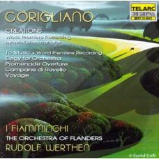 科里利亞諾:創世紀、獻給音樂、給管弦樂團的悲歌、漫步序曲、拉維洛的鐘聲、旅程(世界首錄) Coriglano:Creations and Other Works
