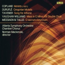 柯普蘭:經文歌/杜魯菲:葛利果經文歌/塔佛納:雅典娜之歌/佛漢.威廉士:G小調彌撒/梅湘與泰利斯:啊!神聖的盛宴 Vaughan Williams:Mass in G Minor, and Other A Cappella Works