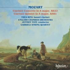 莫札特:A大調單簧管四重奏、A大調單簧管協奏曲