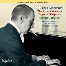 史帝芬.賀夫 / 拉赫曼尼諾夫:鋼琴協奏曲全集、帕格尼尼主題變奏曲 Rachmaninov:The Piano Concertos、Rhapsody on a theme of Paganini