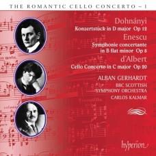浪漫大提琴協奏曲第1集 - 杜南伊、安奈斯可、達貝爾 (蓋哈特,  大提琴) The Romantic Cello Concerto 1 - Dohnányi, Enescu & Albert (Gerhardt, cello)