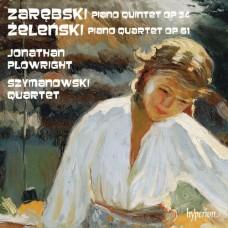 札瑞布斯基:鋼琴五重奏、哲仁斯基:鋼琴四重奏 (普洛萊特, 鋼琴 / 齊瑪諾夫斯基四重奏) Zarebski:Piano Quintet、Zelenski:Piano Quartet  (Plowright, piano / Szymanowski Quartet)