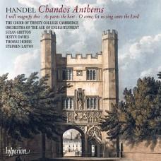 Handel:Chandos Anthems Nos 5a, 6a & 8