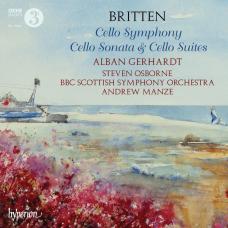 布列頓:大提琴交響曲、奏鳴曲及組曲 Britten:Cello Symphony, Cello Sonata & Cello Suites (Gerhardt 蓋哈特, 大提琴)