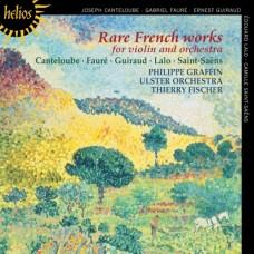 法國珍稀小提琴與管弦樂團作品 Rare French works for violin & orchestra