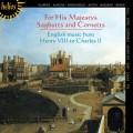 亨利八世至查理二世的英國音樂 For His Majestys Sagbutts & Cornetts