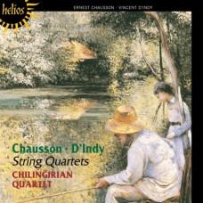 蕭頌 & 丹第:弦樂四重奏 Chausson & d'Indy:String Quartets