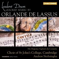 奧蘭多.拉素士:宗教音樂集 Laudent Deum~Sacred Music by Orlande de Lassus
