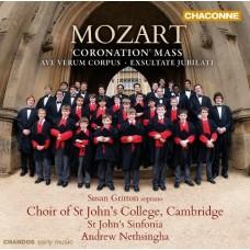 莫札特:加冕彌撒、聖體頌、歡樂頌 Mozart:Coronation Mass, etc.