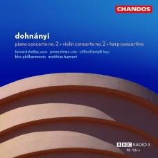 杜南伊:第2號鋼琴協奏曲 / 第2號小提琴協奏曲 / 豎琴小協奏曲 Dohnanyi:Violin Concerto No.2 ect.