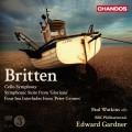 布列頓:給大提琴與管弦樂團的交響曲、榮光女王、四首海洋間奏曲 Britten:Symphony for Cello and Orchestra