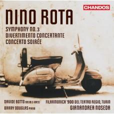 尼諾.羅塔:第三號交響曲 Nino Rota:Symphony No.3, etc