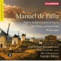 法雅:給戲劇與音樂會的作品 Manuel de Falla:Works for Stage and Concert Hall (Bavouzet 巴佛傑, 鋼琴)