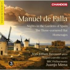 法雅:給戲劇與音樂會的作品 Manuel de Falla:Works for Stage and Concert Hall (Bavouzet 巴佛傑, 鋼琴)