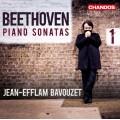 貝多芬:鋼琴奏鳴曲第一集 Beethoven:Piano Sonatas Vol.1 (Bavouzet 巴佛傑, 鋼琴)