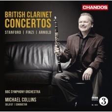 英國豎笛協奏曲集~史丹佛、芬濟、阿諾德 British Clarinet Concertos