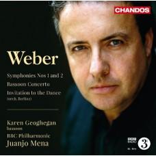 韋伯:第一、二號交響曲、巴松管協奏曲、邀舞 Weber:Symphonies Nos. 1 and 2 & Bassoon Concerto